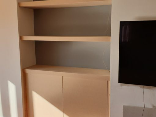 Built-in Storage Units
