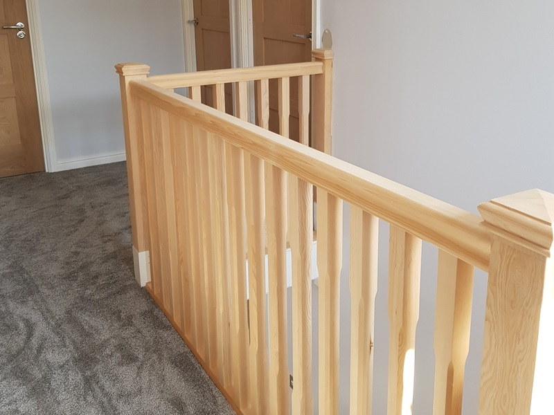 Handcrafted bespoke stairs