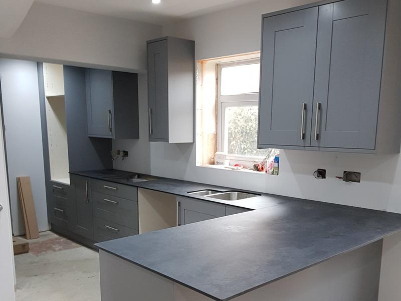 Bespoke wooden kitchen units